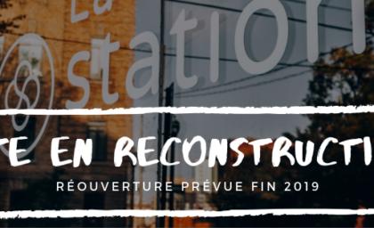 La station Québec se remet sur pied!